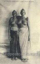 afr002117 - Guinee African Nude Nudes Postcard Post Card