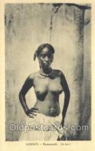 afr002118 - Djibouti African Nude Nudes Postcard Post Card