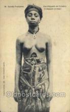 afr002122 - Guinea African Nude Nudes Postcard Post Card