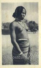 afr002125 - Eritrea African Nude Nudes Postcard Post Card