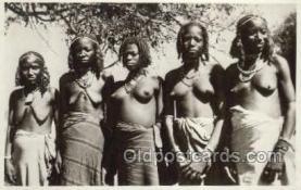 afr002127 - Eritrea African Nude Nudes Postcard Post Card