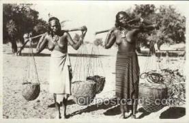 afr002129 - Eritrea African Nude Nudes Postcard Post Card
