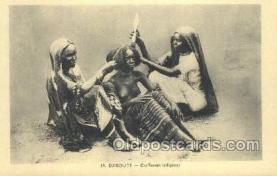 afr002133 - Djibouti African Nude Nudes Postcard Post Card