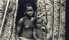 afr002135 - Cote D Ivoine African Nude Nudes Postcard Post Card