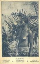 afr002139 - Sara Kaba African Nude Nudes Postcard Post Card