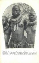 afr002142 - African Nude Nudes Postcard Post Card