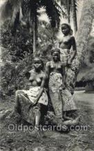 afr002143 - African Nude Nudes Postcard Post Card