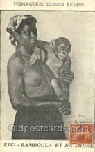 afr002144 - Zizi Bamboula African Nude Nudes Postcard Post Card
