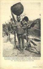 afr002145 - Porteuse De Biere De Mil African Nude Nudes Postcard Post Card
