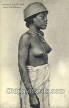 afr002146 - African Nude Nudes Postcard Post Card