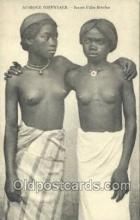 afr002147 - African Nude Nudes Postcard Post Card