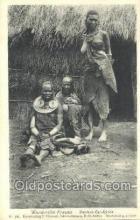 afr002151 - Wandorobo Frauen African Nude Nudes Postcard Post Card