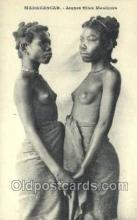 afr002156 - African Nude Nudes Postcard Post Card