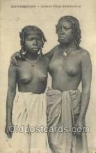 afr002157 - African Nude Nudes Postcard Post Card