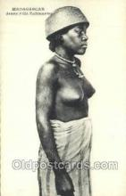 afr002166 - African Nude Nudes Postcard Post Card