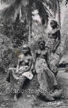 afr002168 - African Nude Nudes Postcard Post Card