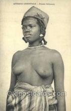 afr002170 - African Nude Nudes Postcard Post Card