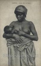 afr002177 - African Nude Nudes Postcard Post Card