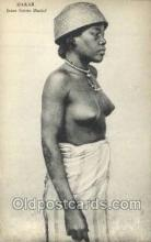afr002178 - African Nude Nudes Postcard Post Card