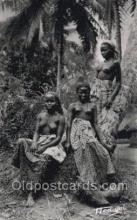 afr002181 - African Nude Nudes Postcard Post Card