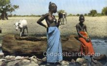 afr002182 - African Nude Nudes Postcard Post Card