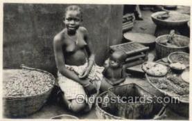 afr002188 - Dahomey African Nude Nudes Postcard Post Card