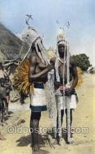 afr002190 - African Nude Nudes Postcard Post Card