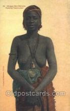 afr002192 - African Nude Nudes Postcard Post Card