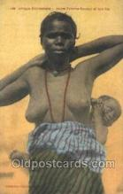 afr002193 - African Nude Nudes Postcard Post Card