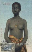 afr002195 - African Nude Nudes Postcard Post Card