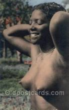 afr002210 - African Nude Nudes Postcard Post Card