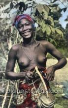 afr002213 - African Nude Nudes Postcard Post Card