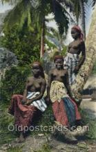 afr002220 - African Nude Nudes Postcard Post Card