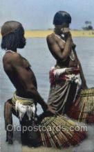 afr002221 - African Nude Nudes Postcard Post Card