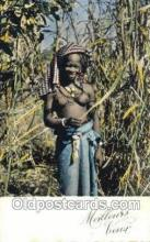 afr002223 - African Nude Nudes Postcard Post Card