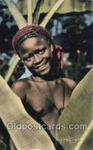 afr002228 - African Nude Nudes Postcard Post Card