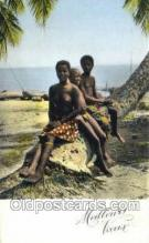 afr002231 - African Nude Nudes Postcard Post Card