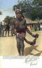 afr002232 - African Nude Nudes Postcard Post Card