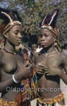 afr002234 - African Nude Nudes Postcard Post Card