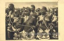 afr002242 - Tchad African Nude Nudes Postcard Post Card