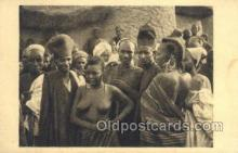 afr002243 - Tchad African Nude Nudes Postcard Post Card