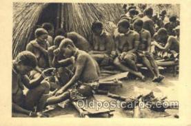 afr002244 - Oubangui-Chari African Nude Nudes Postcard Post Card