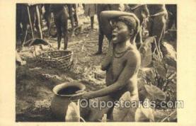 afr002245 - Oubangui-Chari African Nude Nudes Postcard Post Card