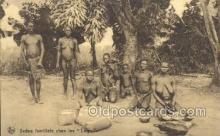 afr002248 - Congo Belge African Nude Nudes Postcard Post Card