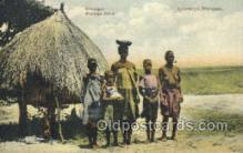 afr002250 - Shirongas African Nude Nudes Postcard Post Card