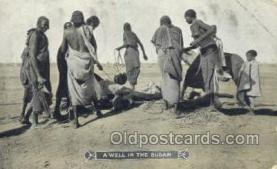 afr002257 - Sudan African Nude Nudes Postcard Post Card