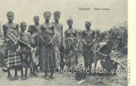 afr002263 - Sekondi African Nude Nudes Postcard Post Card