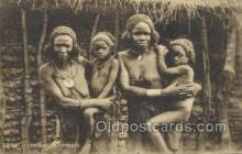 afr002270 - Luimbe Woman African Nude Nudes Postcard Post Card