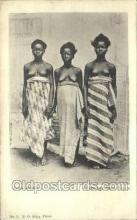 afr002272 - Greetings from Lagos African Nude Nudes Postcard Post Card