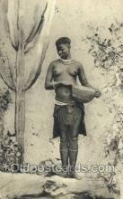 afr002288 - A Matabele Maiden African Nude Nudes Postcard Post Card